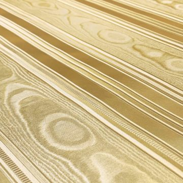 Vintage gold wallpaper with stripes 5