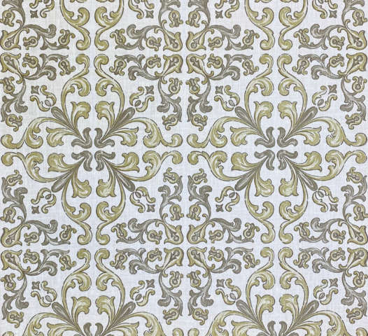 Vintage Gothic Wallpaper Grey and Green
