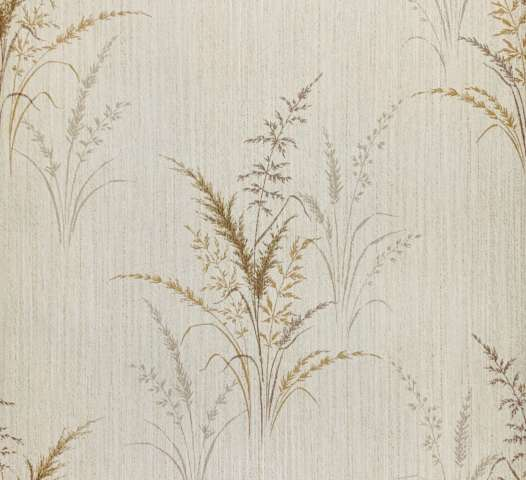 Vintage grass wallpaper