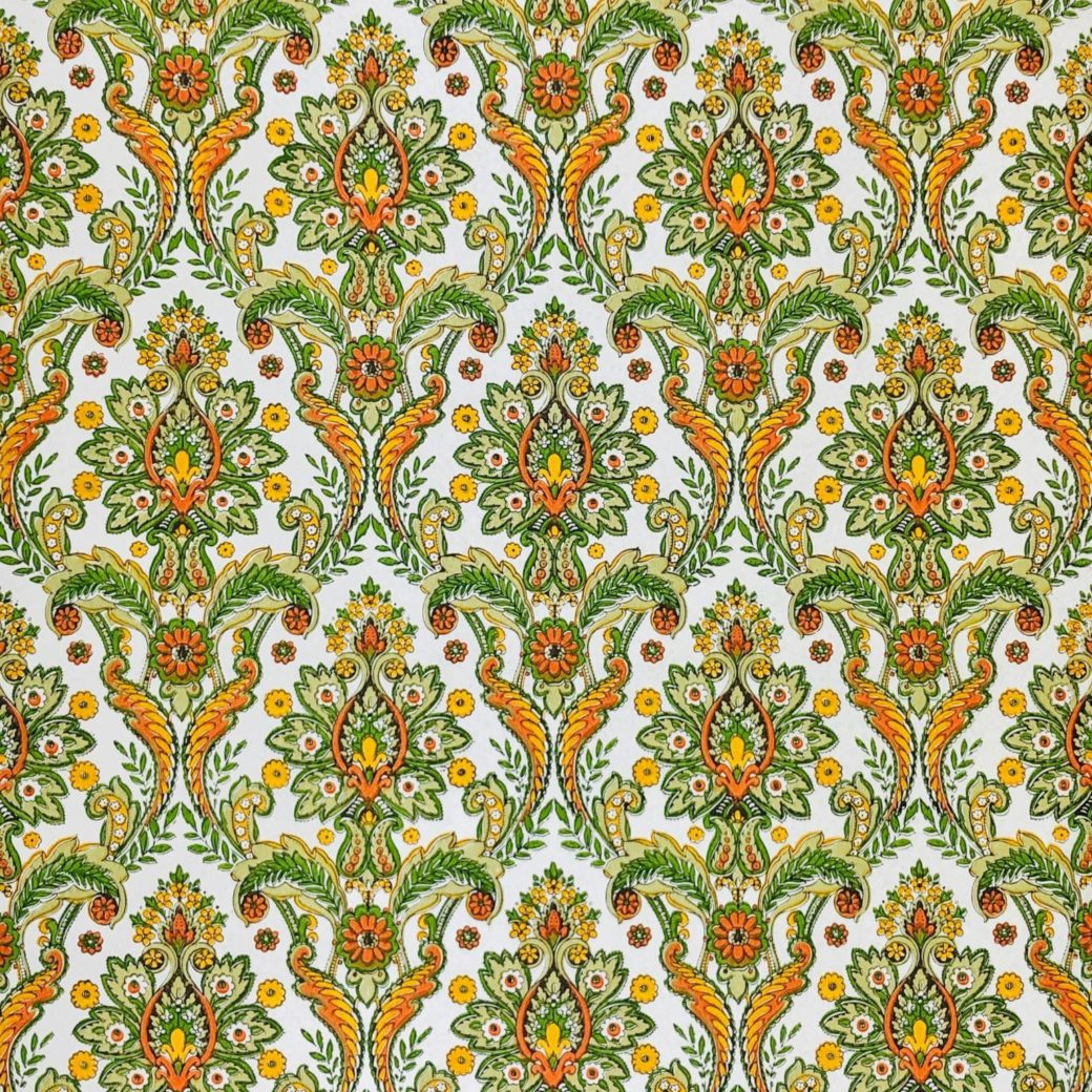 Colorful baroque wallpaper 1
