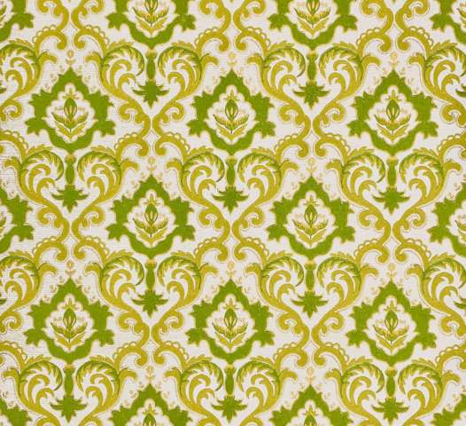 Vintage green baroque wallpaper 1