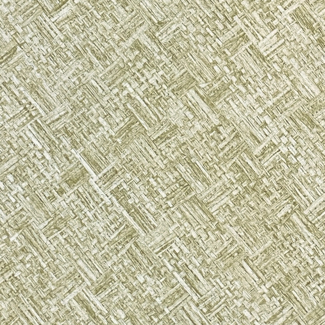 Vintage Green Textile Look Wallpaper 4
