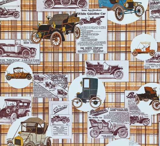 Vintage Oldtimer Theme Wallpaper