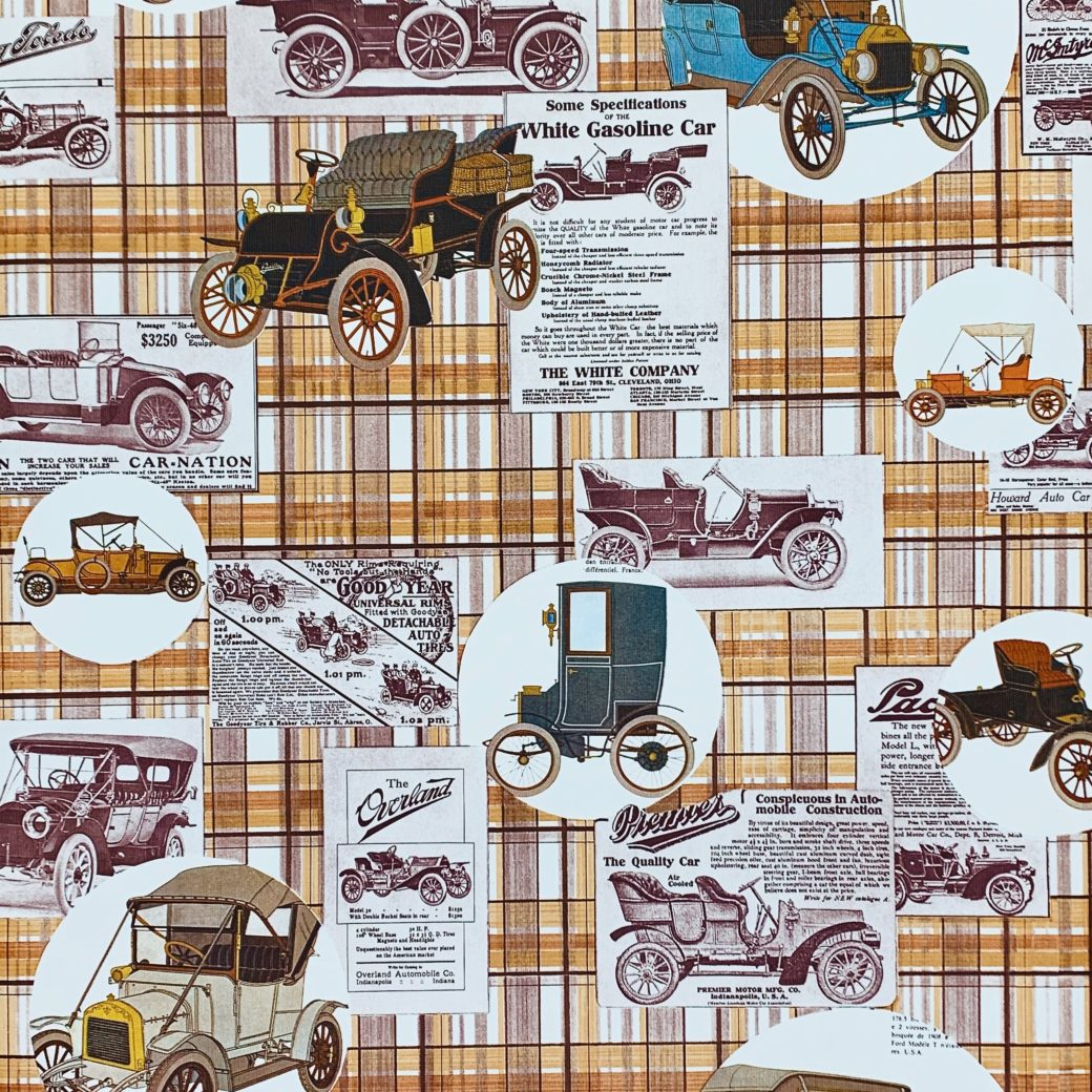 Vintage Oldtimer Theme Wallpaper 1
