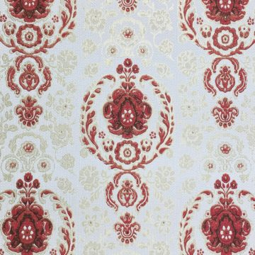 Vintage Ornament Wallpaper Red and Gold 4