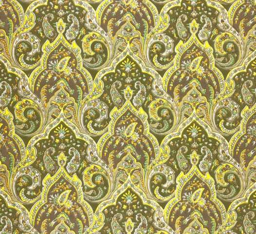 Vintage paisley wallpaper 1