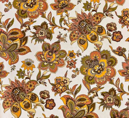 Vintage paisley wallpaper 2 1
