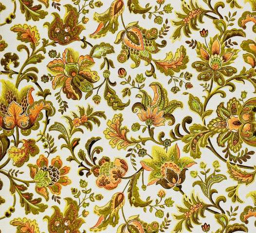 Vintage paisley wallpaper 5