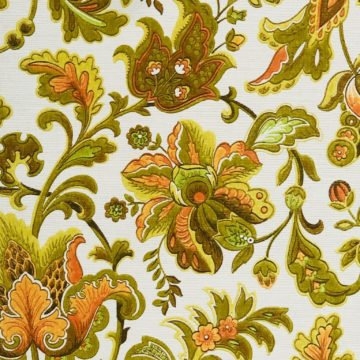 Vintage paisley wallpaper 1 2