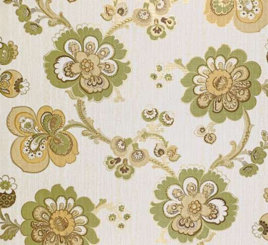 1960s vintage paisley wallpaper 3