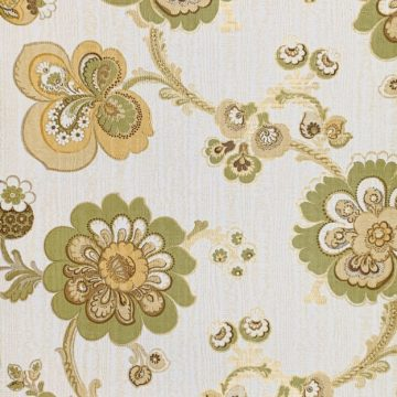 1960s vintage paisley wallpaper 1