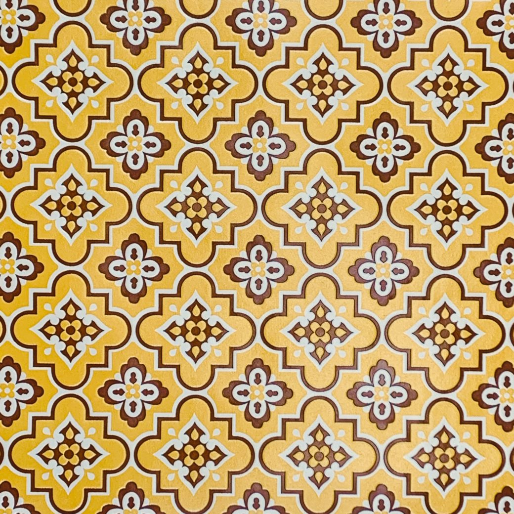 Vintage Retro Linoleum Wallpaper 2