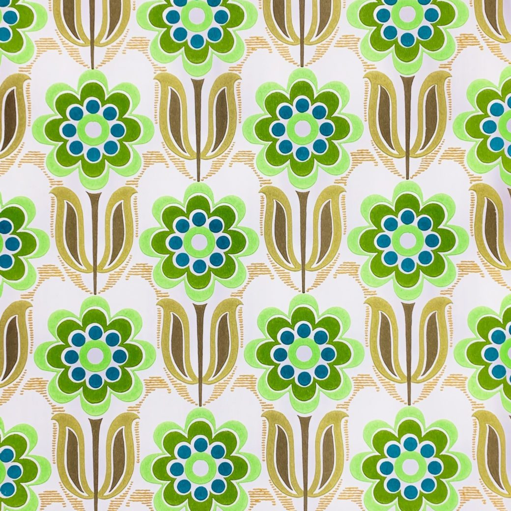 Vintage retro wallpaper 1 4