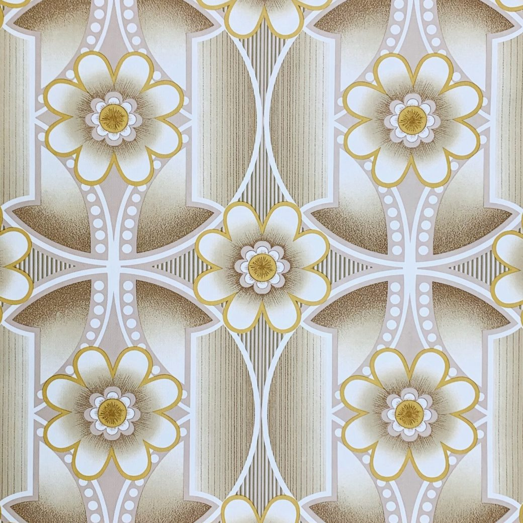 Vintage 1970s retro wallpaper 1