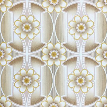 Vintage 1970s retro wallpaper