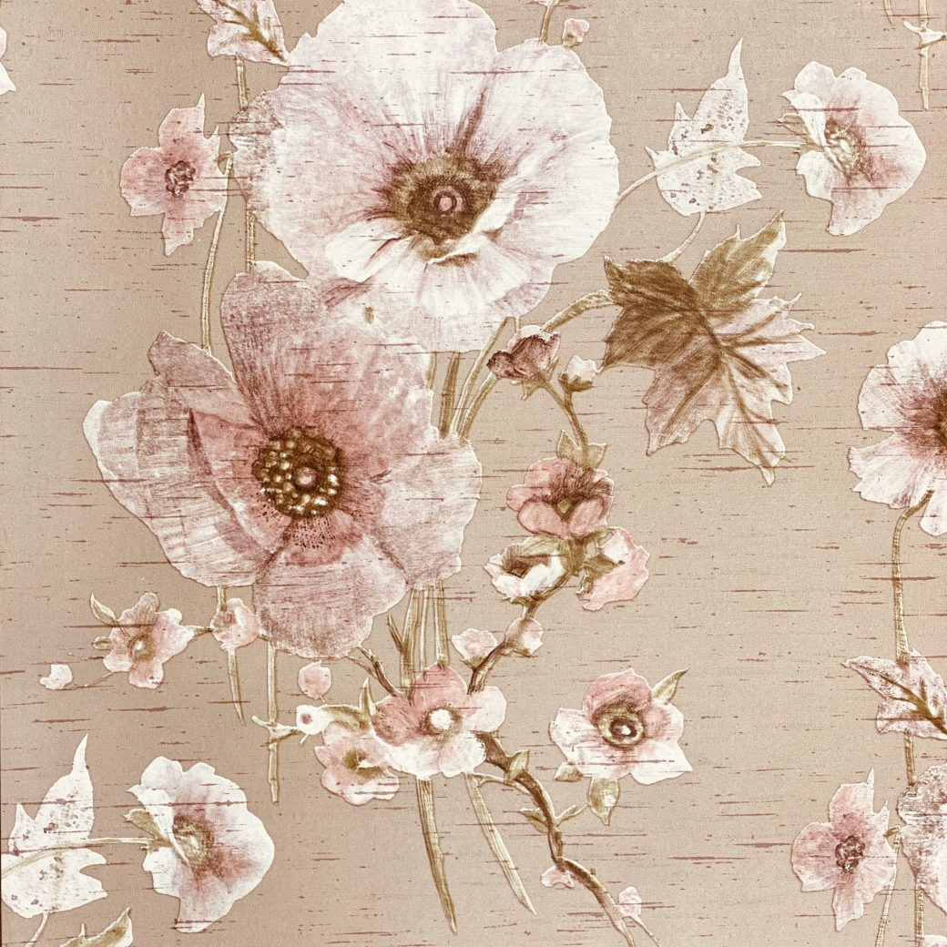 Vintage Romantic Floral Wallpaper 2