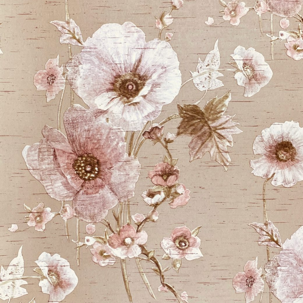 Vintage Romantic Floral Wallpaper 3