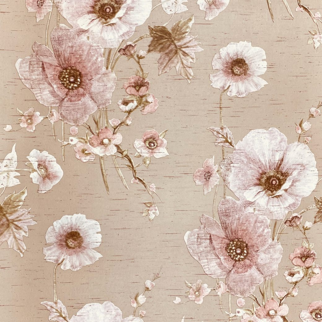 Vintage Romantic Floral Wallpaper 5