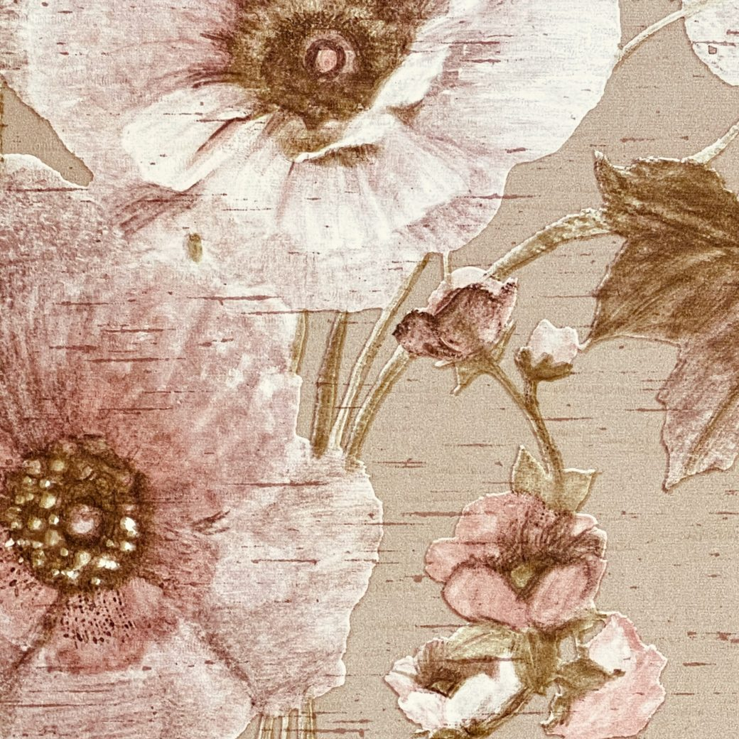 Vintage Romantic Floral Wallpaper 7