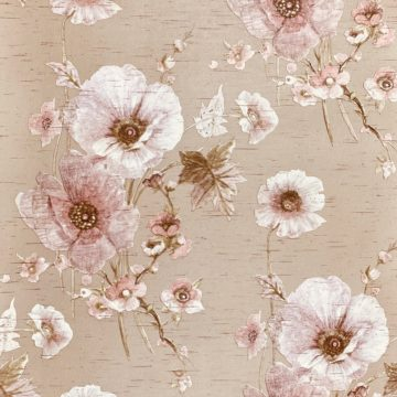Vintage Romantic Floral Wallpaper 4