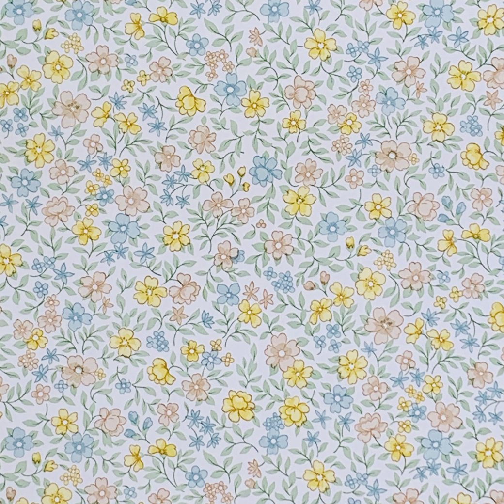 Vintage Small Flowers Wallpaper 3