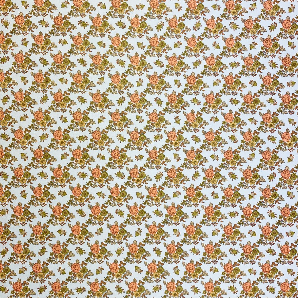 Vintage Small Flowers Wallpaper 2