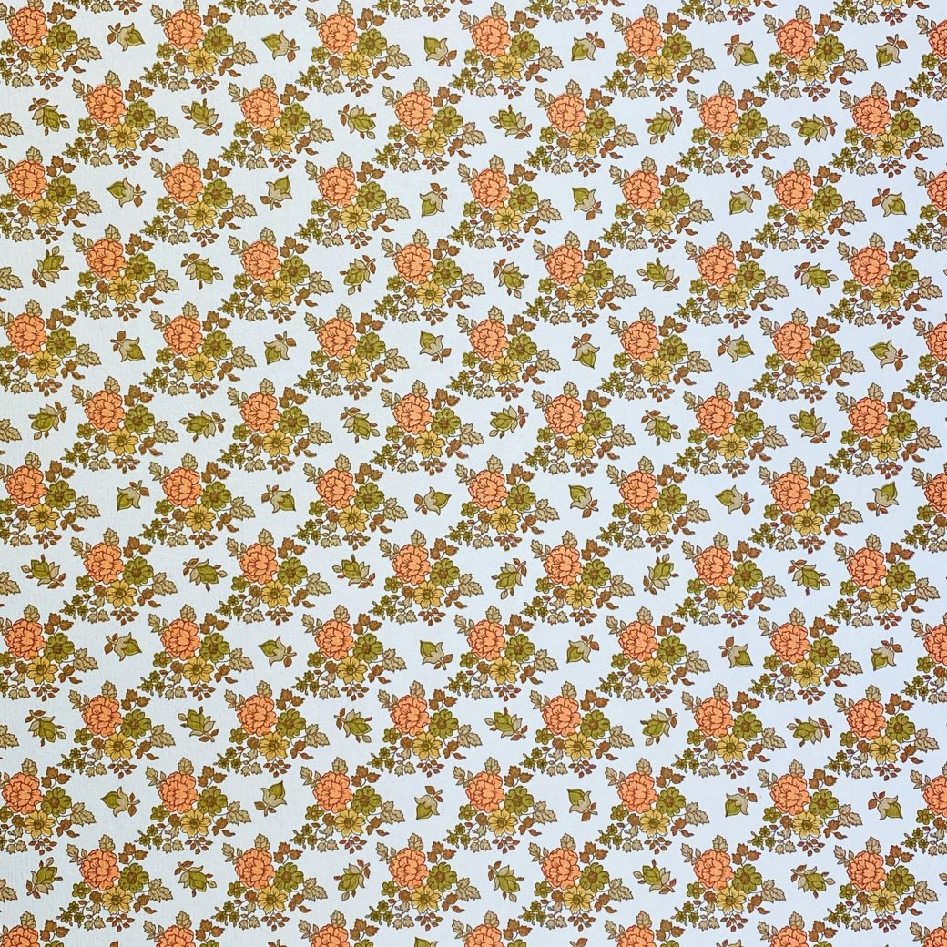 Vintage Small Flowers Wallpaper 4