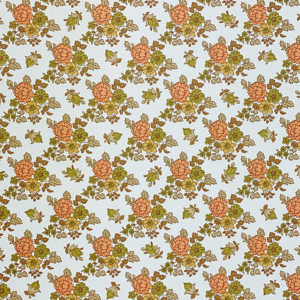 Vintage Small Flowers Wallpaper 6