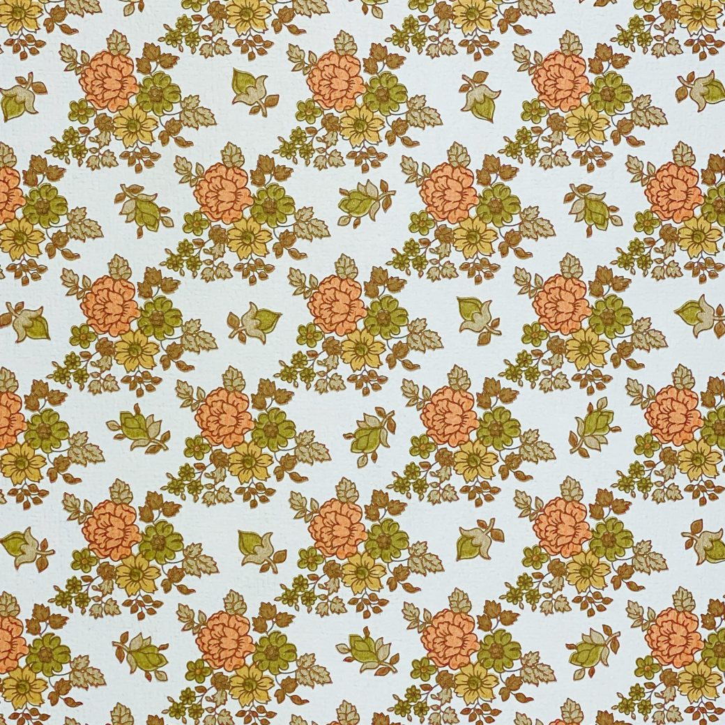 Vintage Small Flowers Wallpaper 7