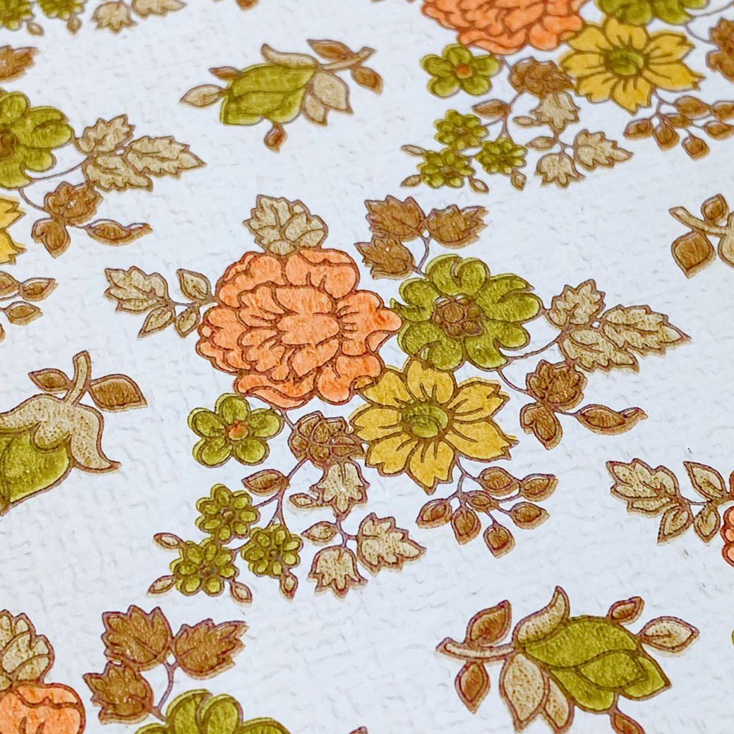 Vintage Small Flowers Wallpaper 9