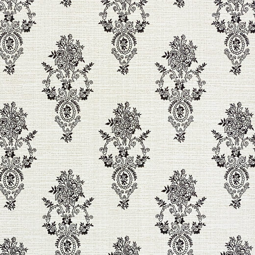 Vintage Small Pattern Baroque Wallpaper9