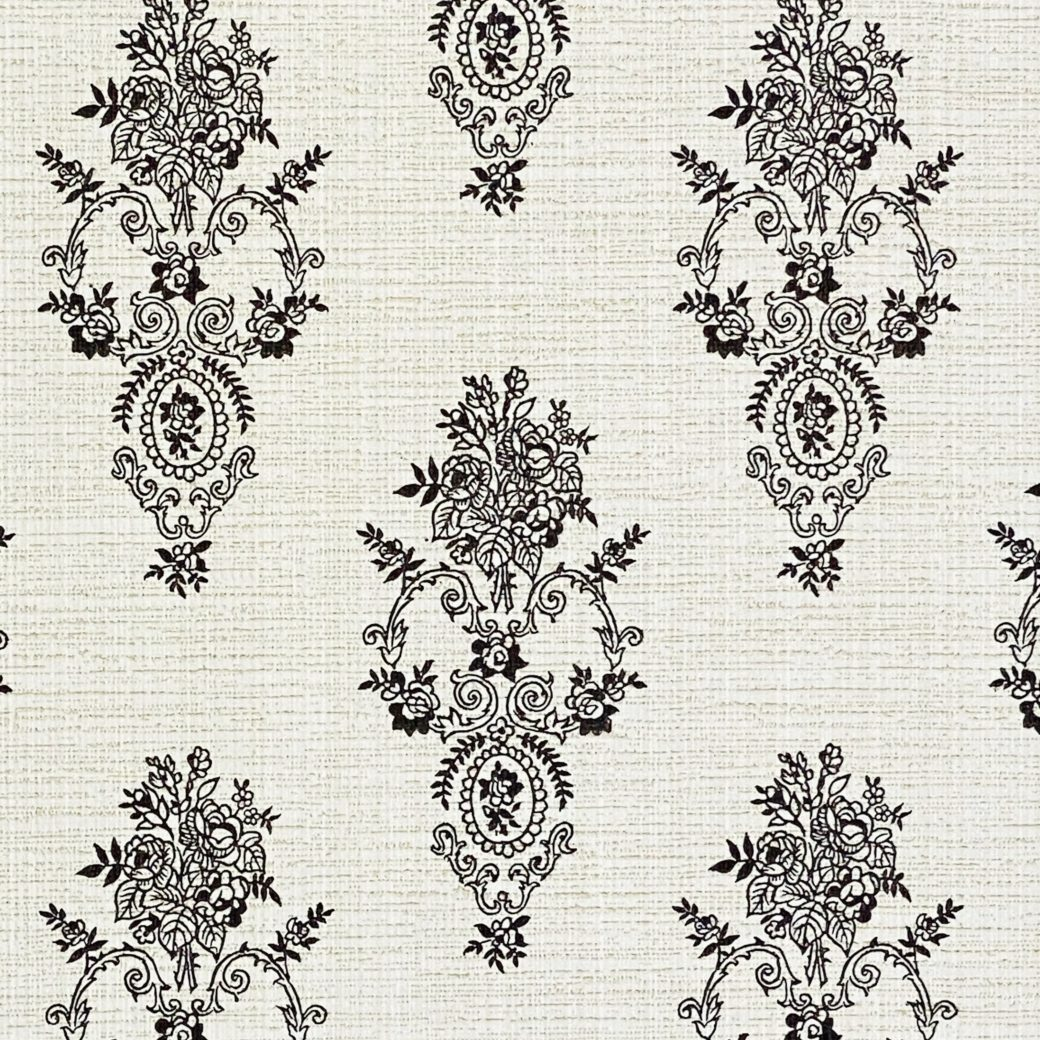 Vintage Small Pattern Baroque Wallpaper11