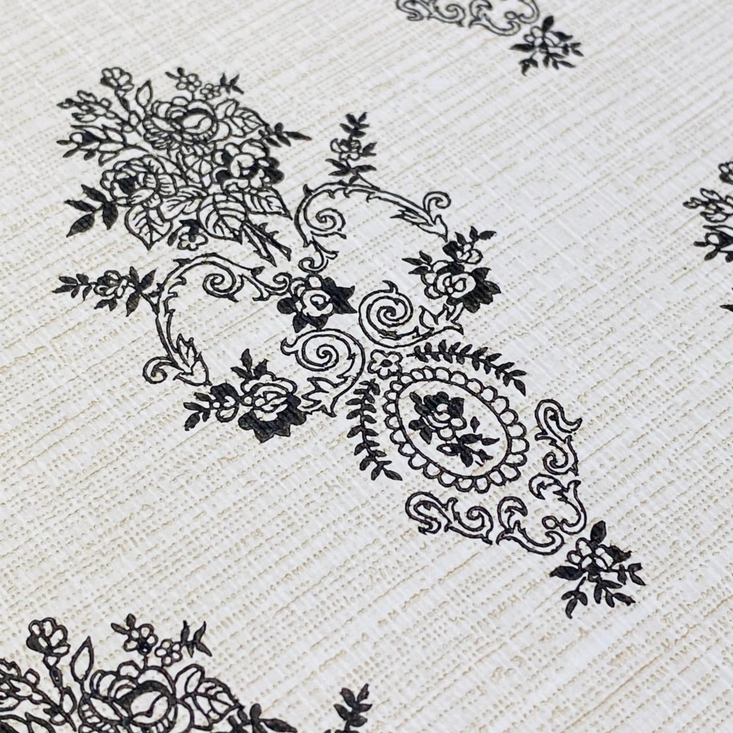 Vintage Small Pattern Baroque Wallpaper13