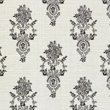 Vintage Small Pattern Baroque Wallpaper10