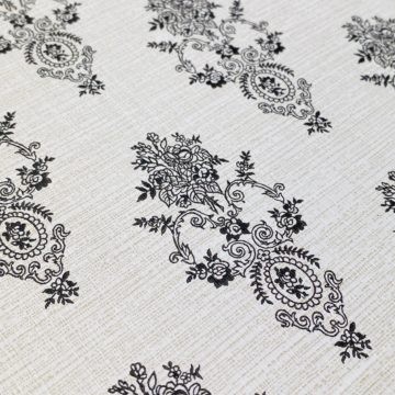 Vintage Small Pattern Baroque Wallpaper12