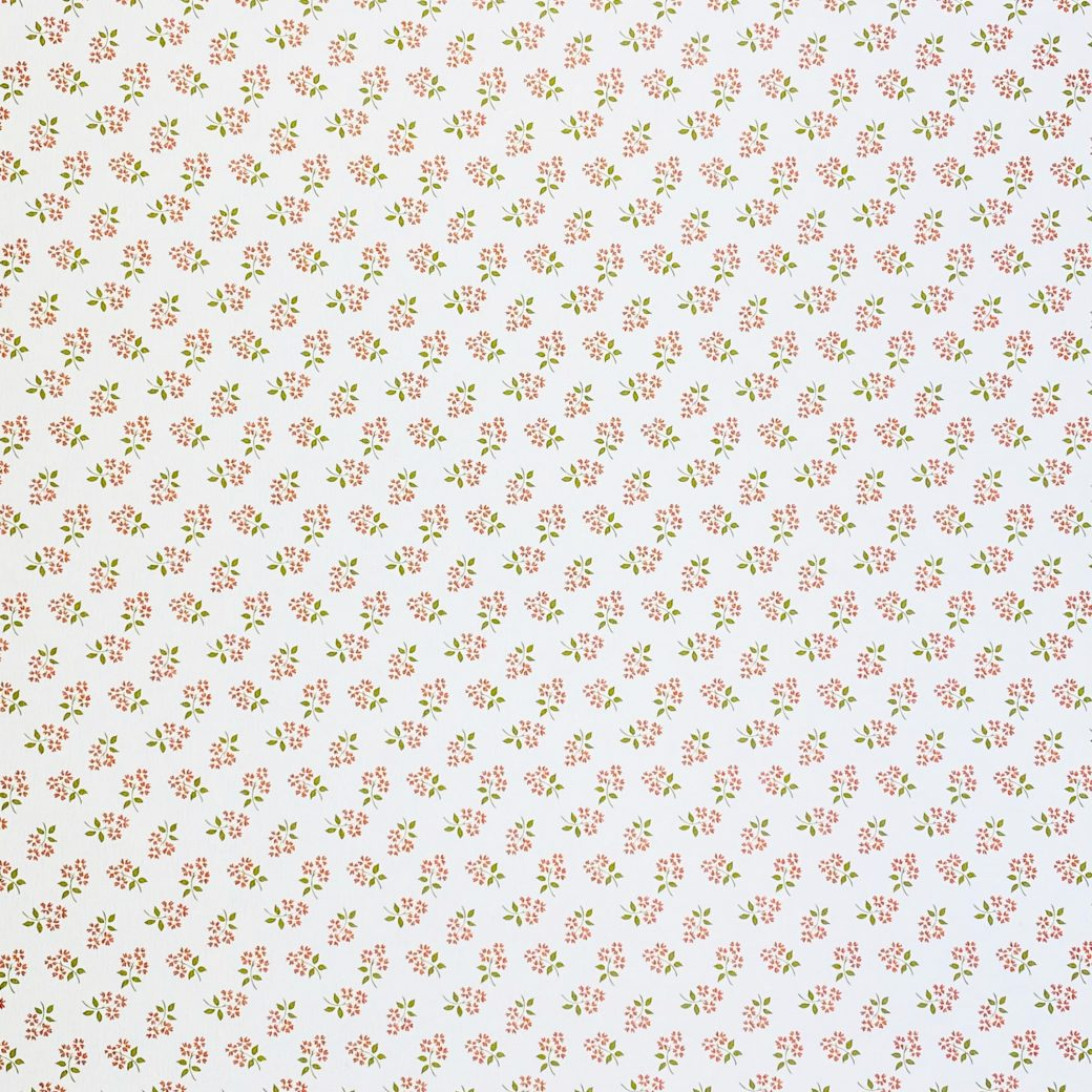 Vintage Small Pattern Floral Wallpaper2