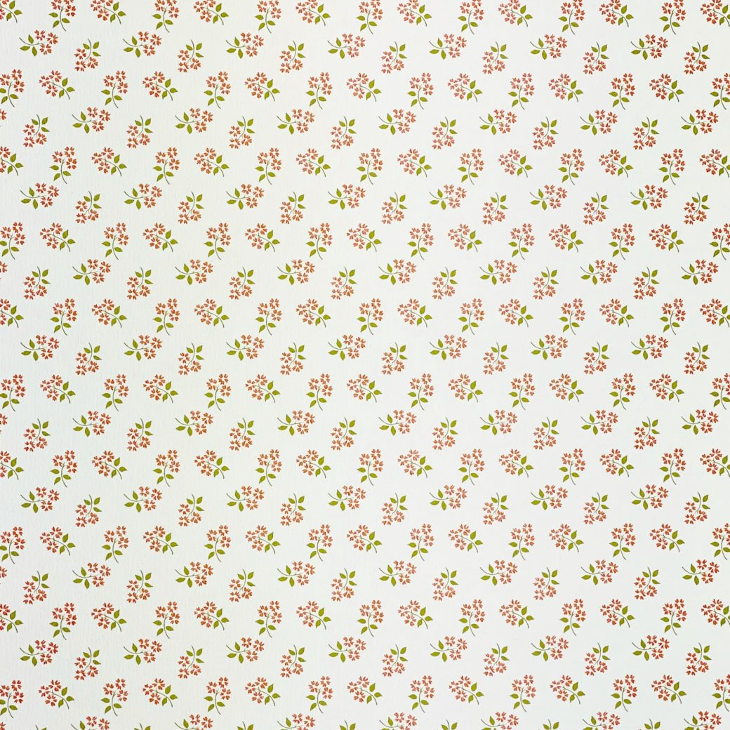 Vintage Small Pattern Floral Wallpaper3