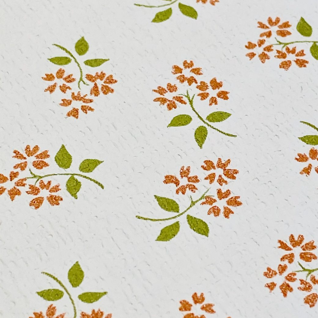 Vintage Small Pattern Floral Wallpaper10