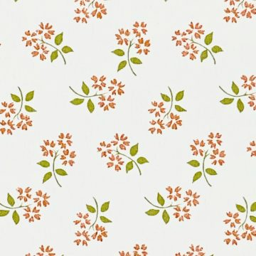 Vintage Small Pattern Floral Wallpaper8