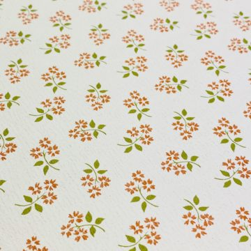 Vintage Small Pattern Floral Wallpaper9