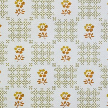 Vintage Small Pattern Floral Wallpaper7