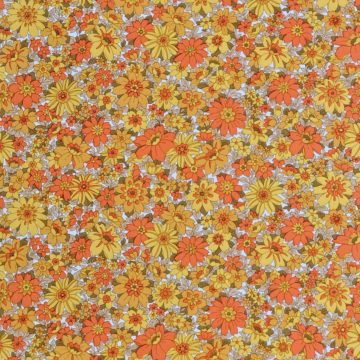 Vintage small pattern floral wallpaper 1 1