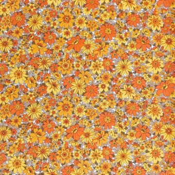 Vintage small pattern floral wallpaper 3