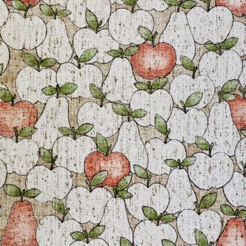 Vintage Theme Wallpaper With Apples and Pears 4