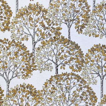 Vintage Theme Wallpaper with Trees 5