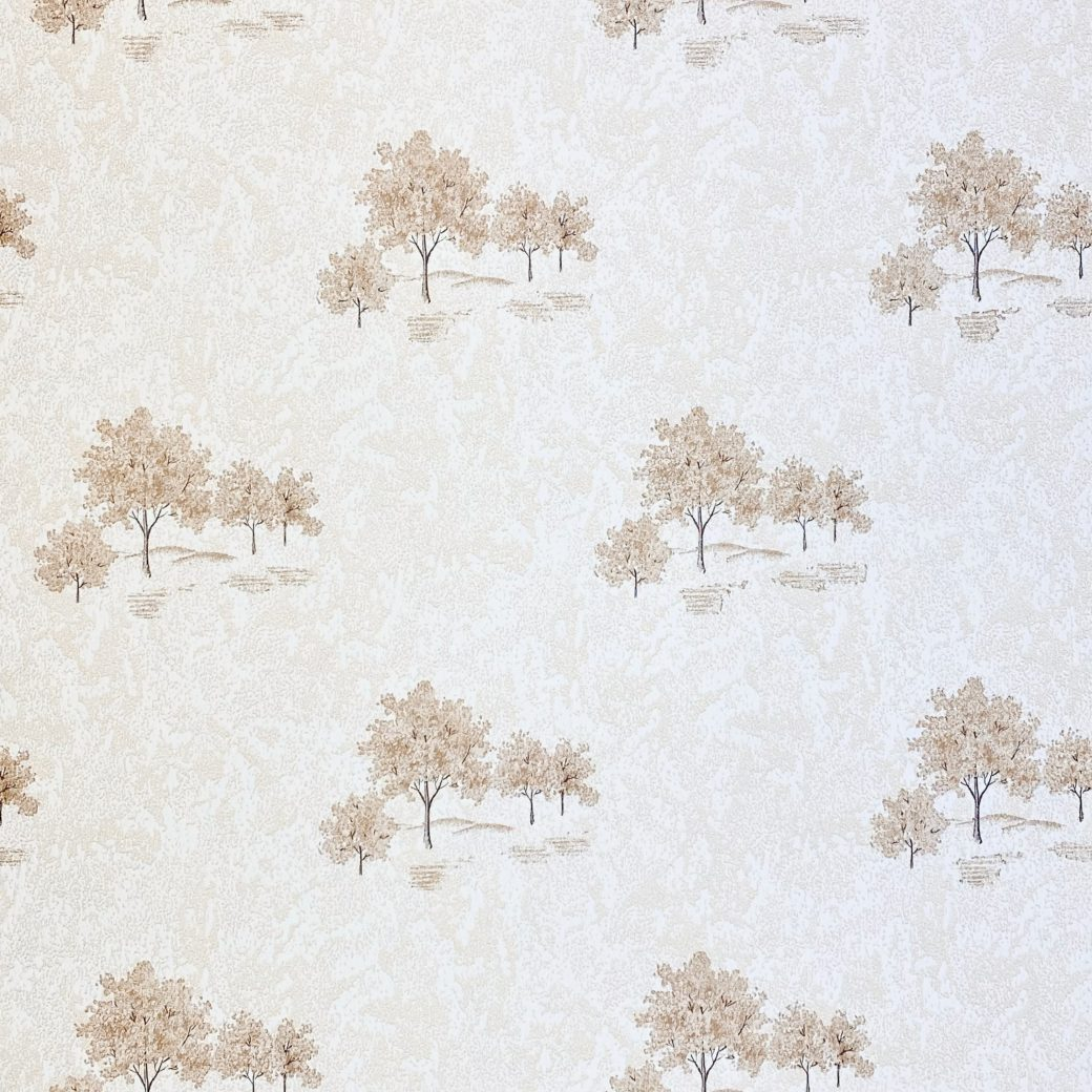 Vintage Theme Wallpaper with Trees 2