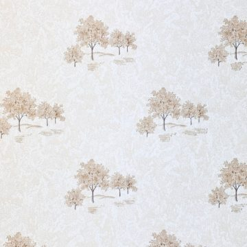 Vintage Theme Wallpaper with Trees 3