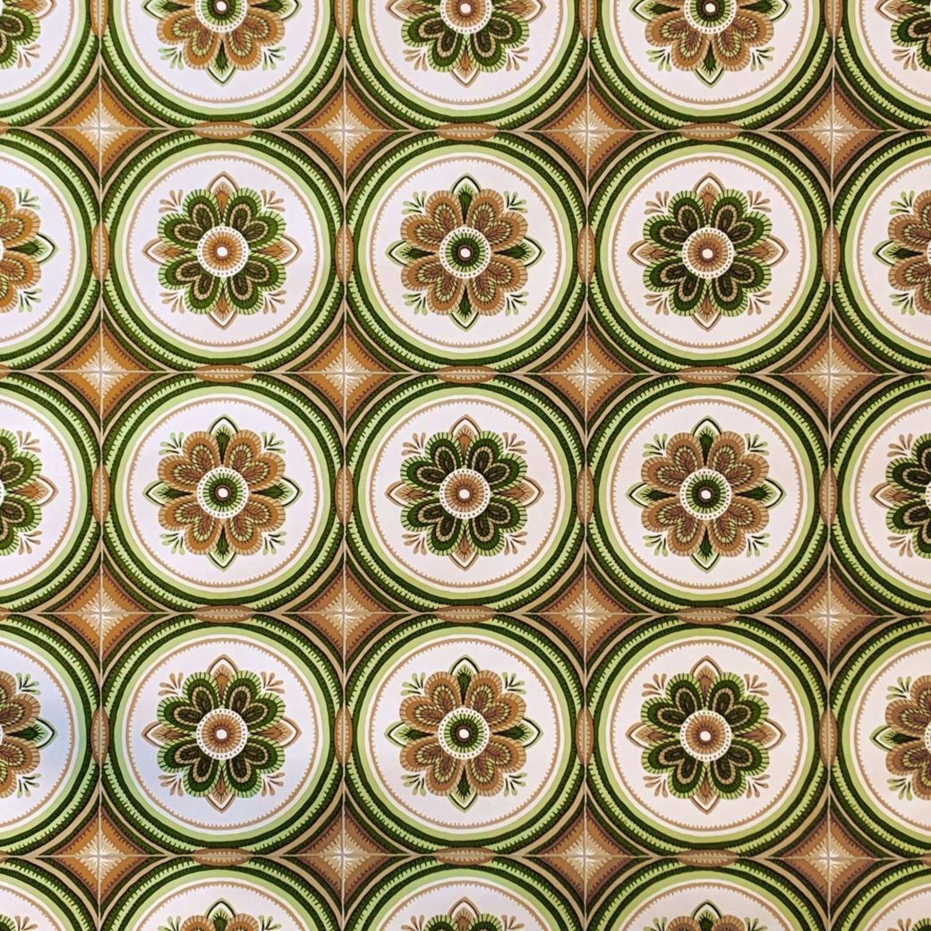 Vintage tile wallpaper 1 2