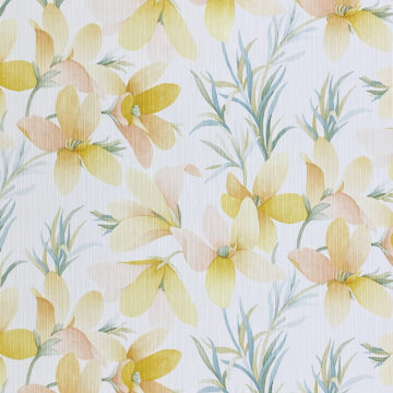 Vintage Yellow Flower Wallpaper 2