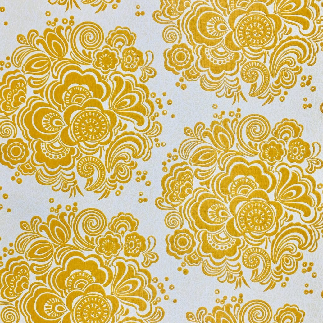 Geometric floral wallpaper 4